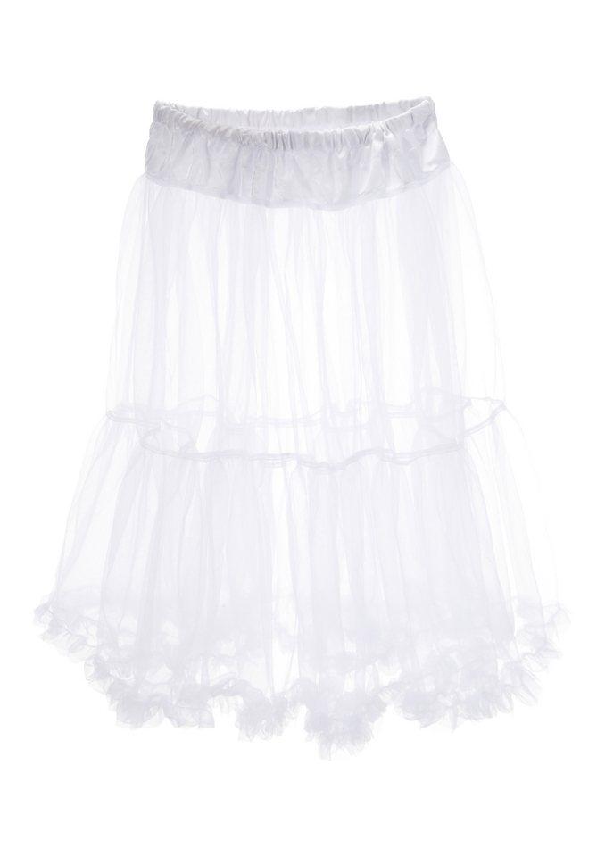 Petticoat Länge ca. 75 cm, Marjo in weiß