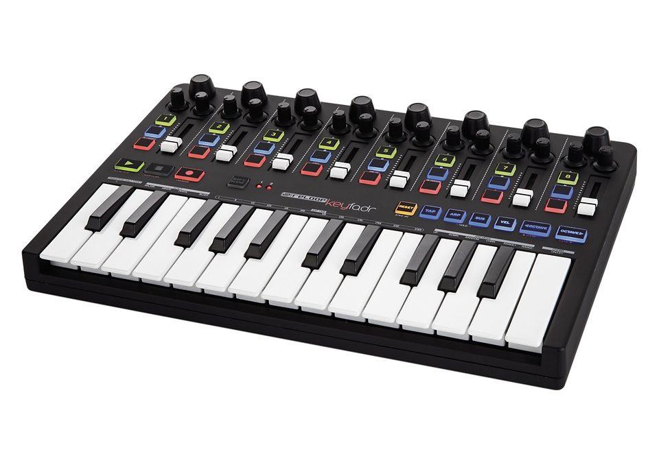 USB-MIDI-Keyboard mit DAW-Kontrolle, Reloop, »Keyfadr«