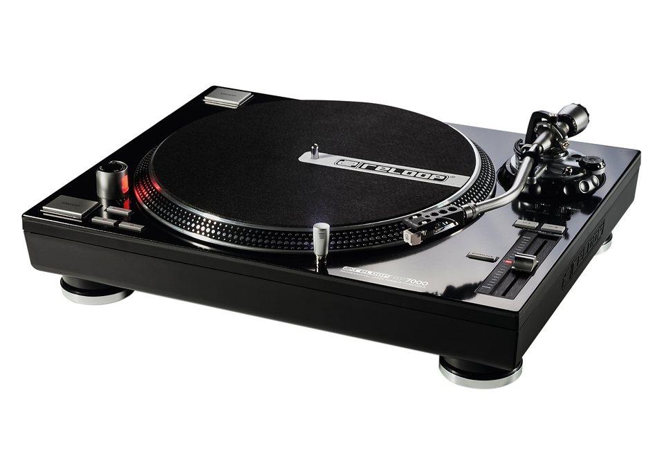 DJ Plattenspieler, Reloop, »RP-7000«, mit High-Torque-Direktantrieb in schwarz