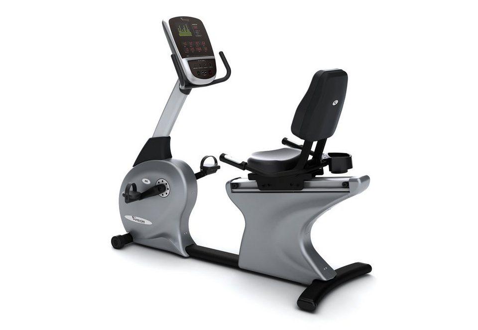 Halbliege Ergometer, »R60«, Vision Fitness in grau-schwarz