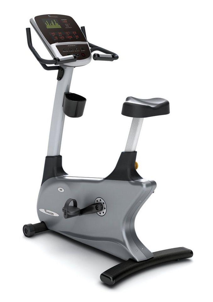 Ergometer, »U60«, Vision Fitness in schwarz-silber