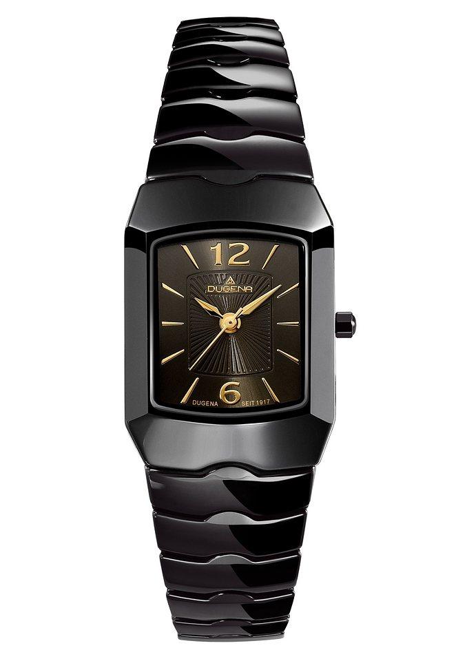 Dugena Quarzuhr »4460538« in schwarz