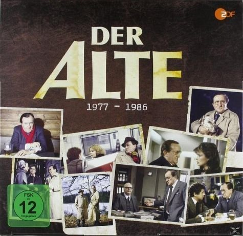 DVD »Der Alte - Siegfried Lowitz Box 1977-1986 (39...«