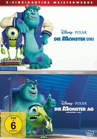 DVD »Die Monster Uni / Die Monster AG (2 Discs)«