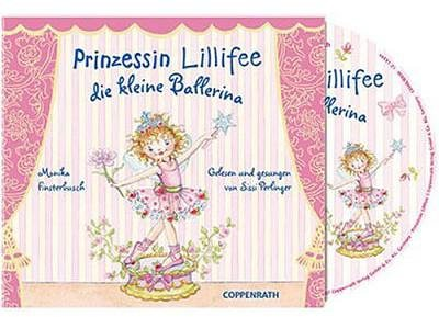 edel germany gmbh cd prinzessin lillifee kleine ballerina online kaufen otto. Black Bedroom Furniture Sets. Home Design Ideas