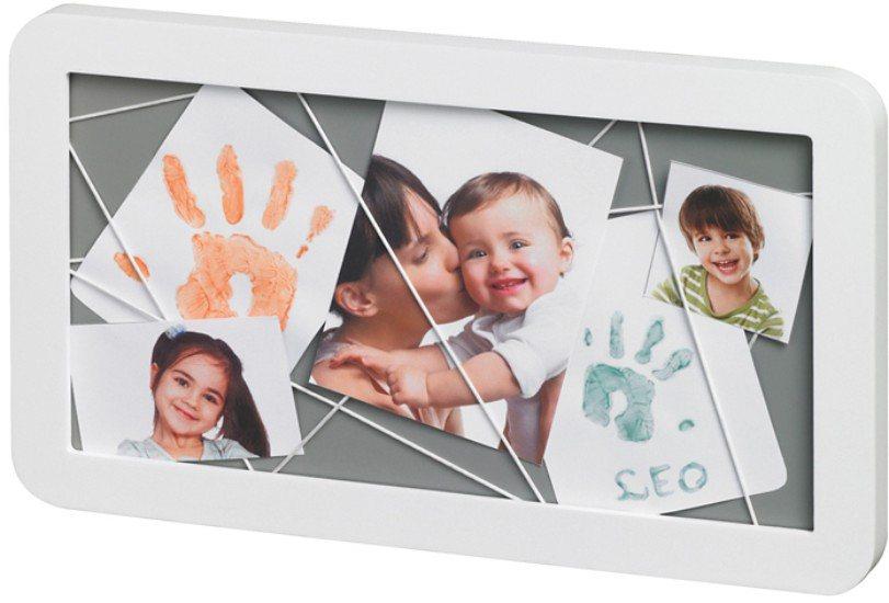 Baby Art Bilderrahmen Memory Board, white in weiß