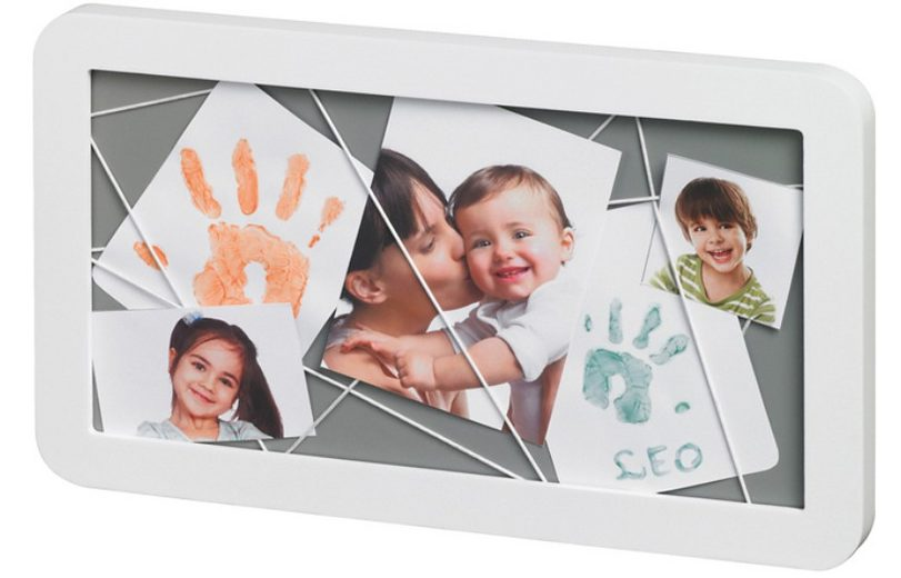 Baby Art Bilderrahmen Memory Board, white
