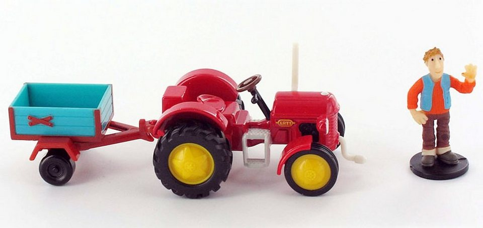 Wandtattoo kleiner roter traktor reuniecollegenoetsele