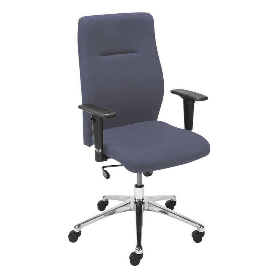 Nowy Styl Bürostuhl »Nero Eco« mit Armlehnen in blau