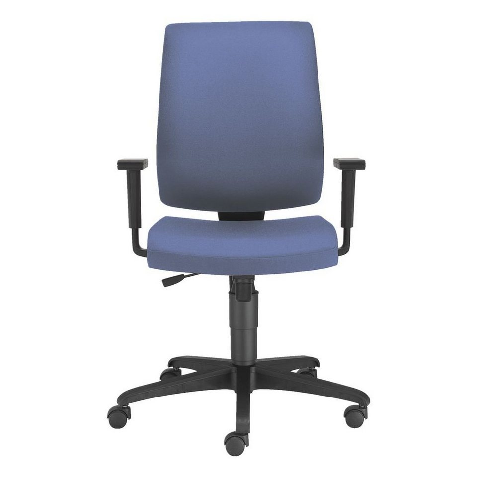 Nowy Styl Bürostuhl »Taktik« ohne Armlehnen in blau