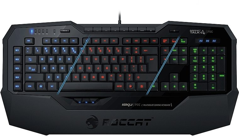 ROCCAT Gaming Tastatur »Isku FX Multicolor Gaming Keyboard DE Layout«