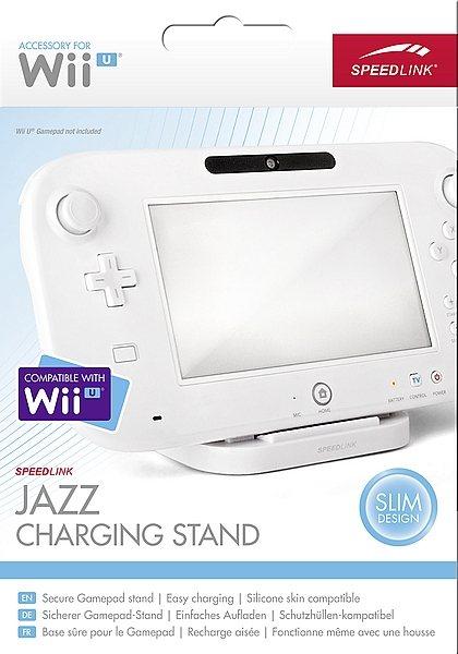 SPEEDLINK Ladestation »JAZZ Charging Stand für Wii U weiß«
