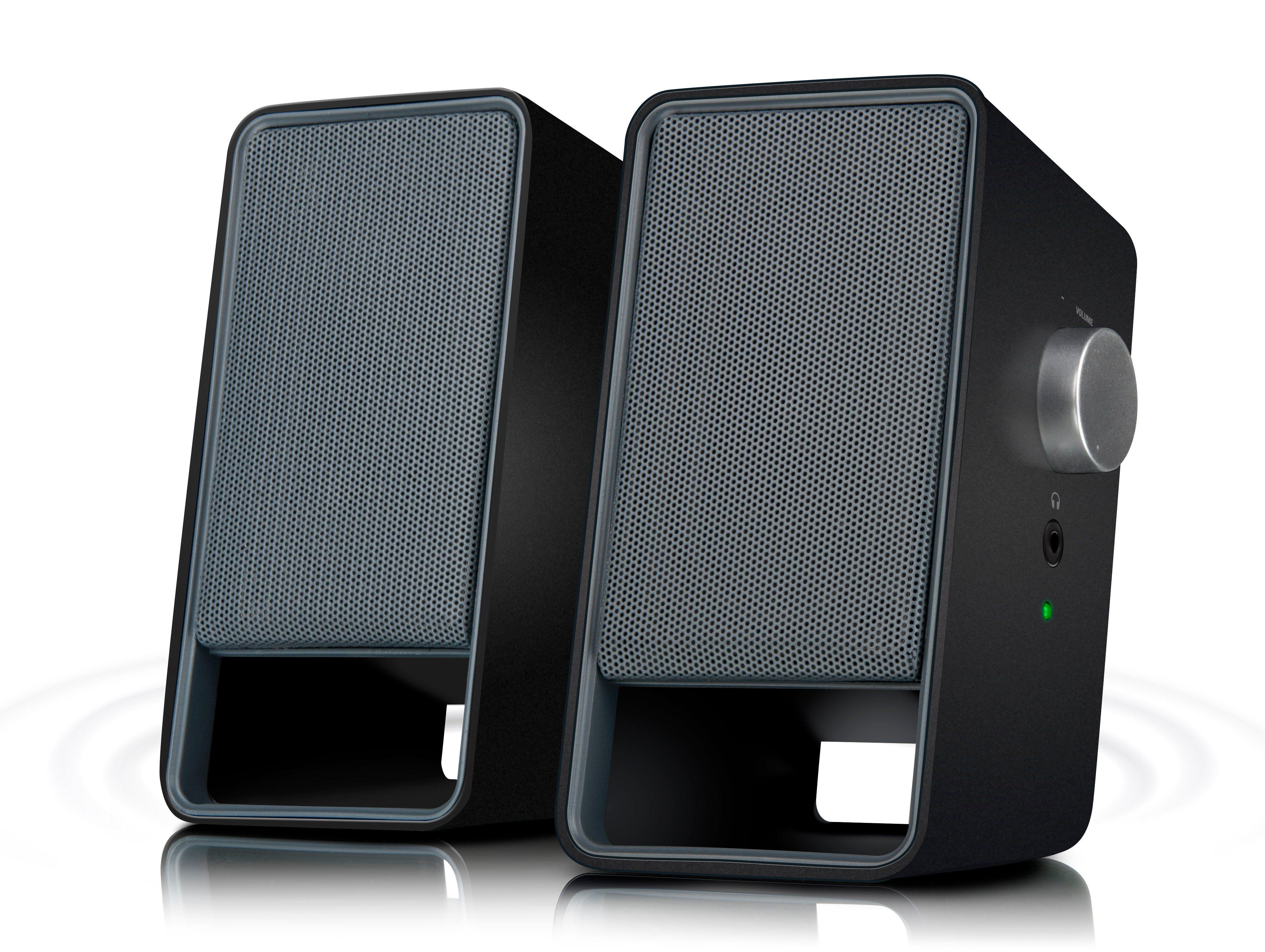 SPEEDLINK Lautsprecher »VIORA Stereo Speakers schwarz«