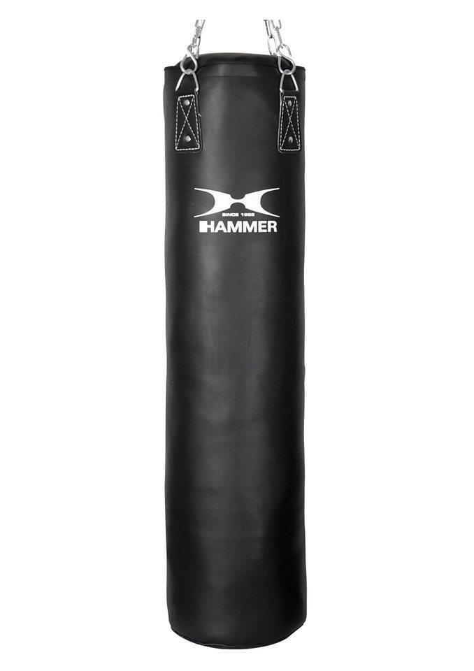 Boxsack, Kunstleder, schwarz, »Black Kick«, Hammer® in schwarz