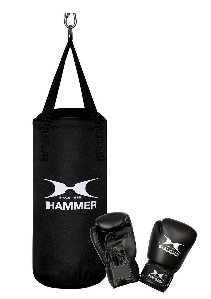 Set: Box-Set Kinder, schwarz, »Junior«, Hammer® (2tlg.) in schwarz