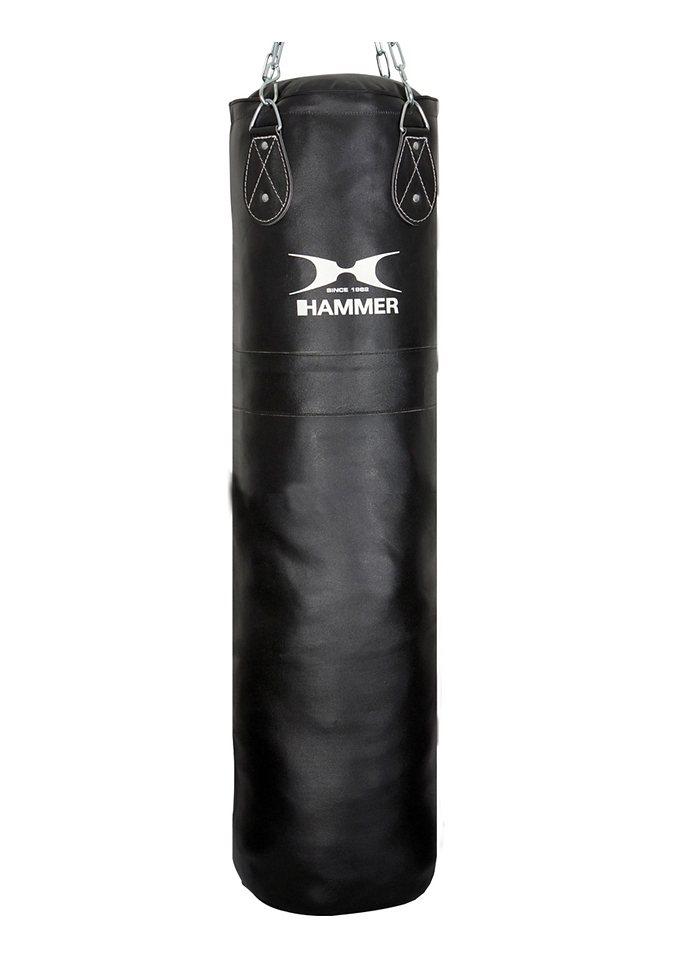 Boxsack, Rindsleder, schwarz, »Premium«, Hammer® in schwarz