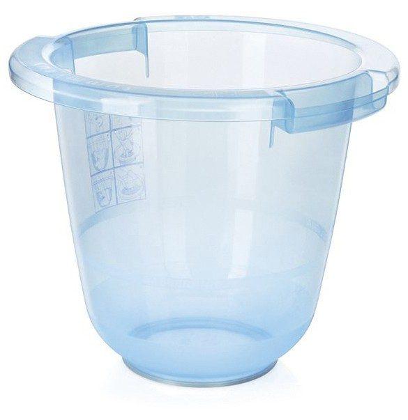 Tummy Tub Badeeimer , blau