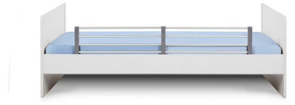 Reer Bettschutzgitter, ausziehbar, Länge 80 - 140 cm, weiß in weiß