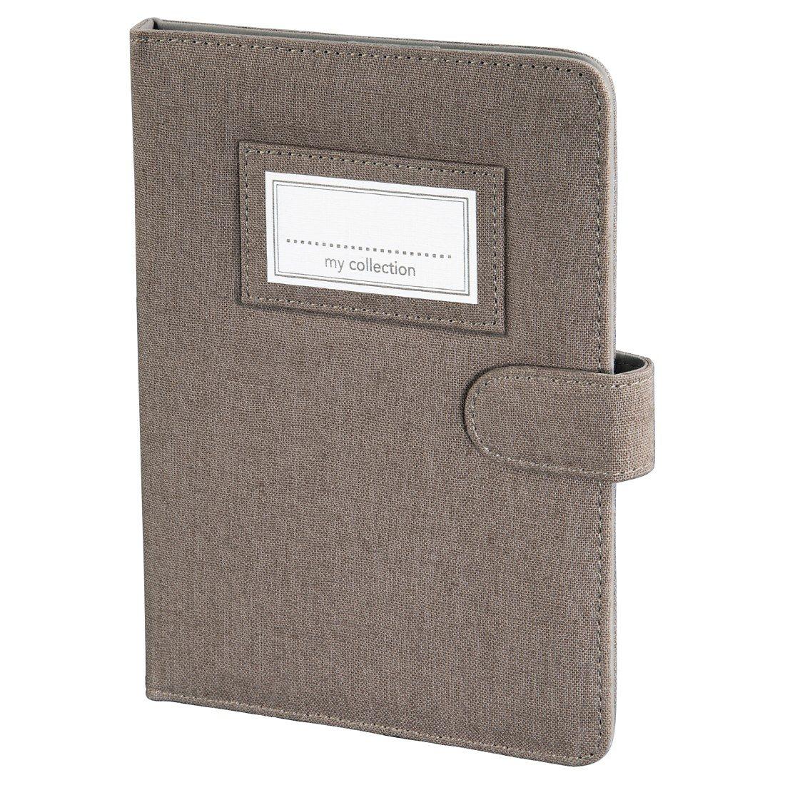 Hama Portfolio Leinen für eBook-Reader bis 15,24 cm (6), Braun
