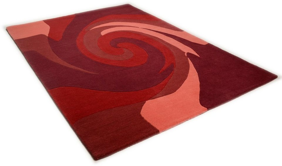 Teppich, Theko, »Hawai 6830«, handgearbeitet, Wolle online