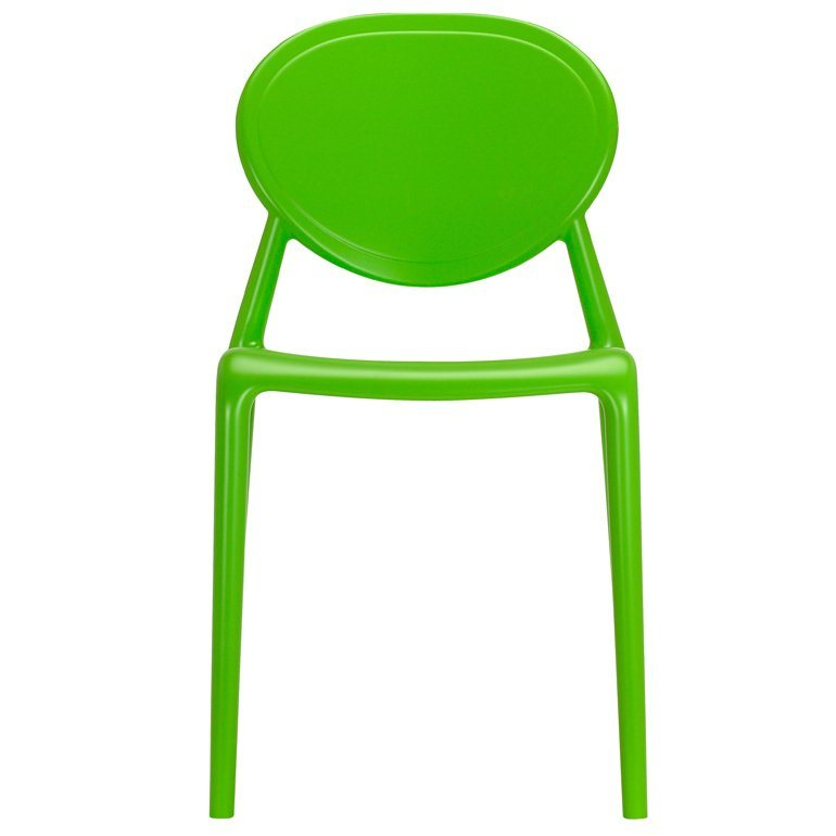 SalesFever Designer Stuhl stapelbar »Gio« in hellgrün