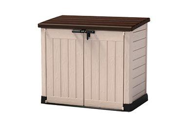 tepro m lltonnenbox store it out maxi f r 2x240 l aus polyprpylen b t h 146 82 125 cm. Black Bedroom Furniture Sets. Home Design Ideas