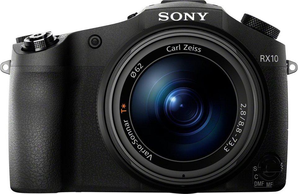 Sony Cyber-Shot DSC-RX10 Bridge Kamera, 20,2 Megapixel, 8x opt. Zoom, 7,5 cm (3 Zoll) Display in schwarz