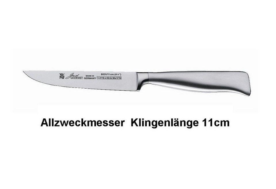 Allzweckmesser, WMF, »GRAND GOURMET« in silberfarben