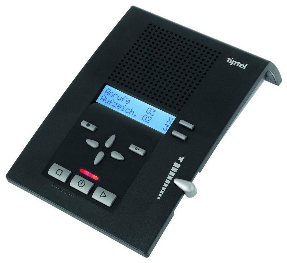 Tiptel Anrufbeantworter »tiptel 309 CLIP« in Schwarz