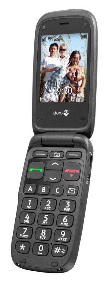 Doro Handy »PhoneEasy 612, Schwarz« in Schwarz