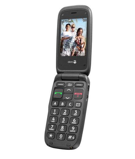 Doro Handy »PhoneEasy 612, Schwarz«