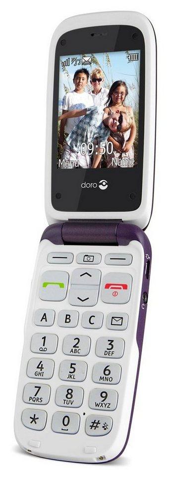 Doro Handy »PhoneEasy 612« in Lila
