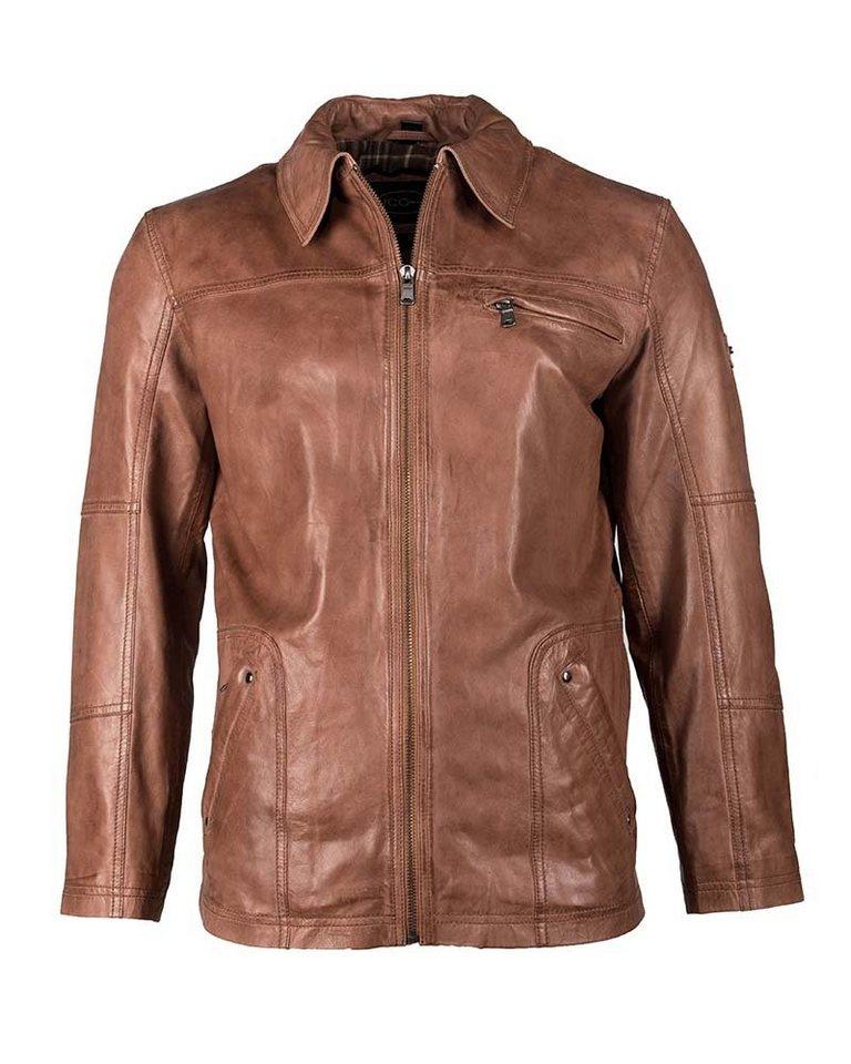 JCC Lederjacke, Herren »Ragazzi« in brown