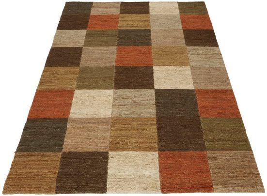 Teppich »Check«, Home affaire, rechteckig, Höhe 5 mm, Wohnzimmer