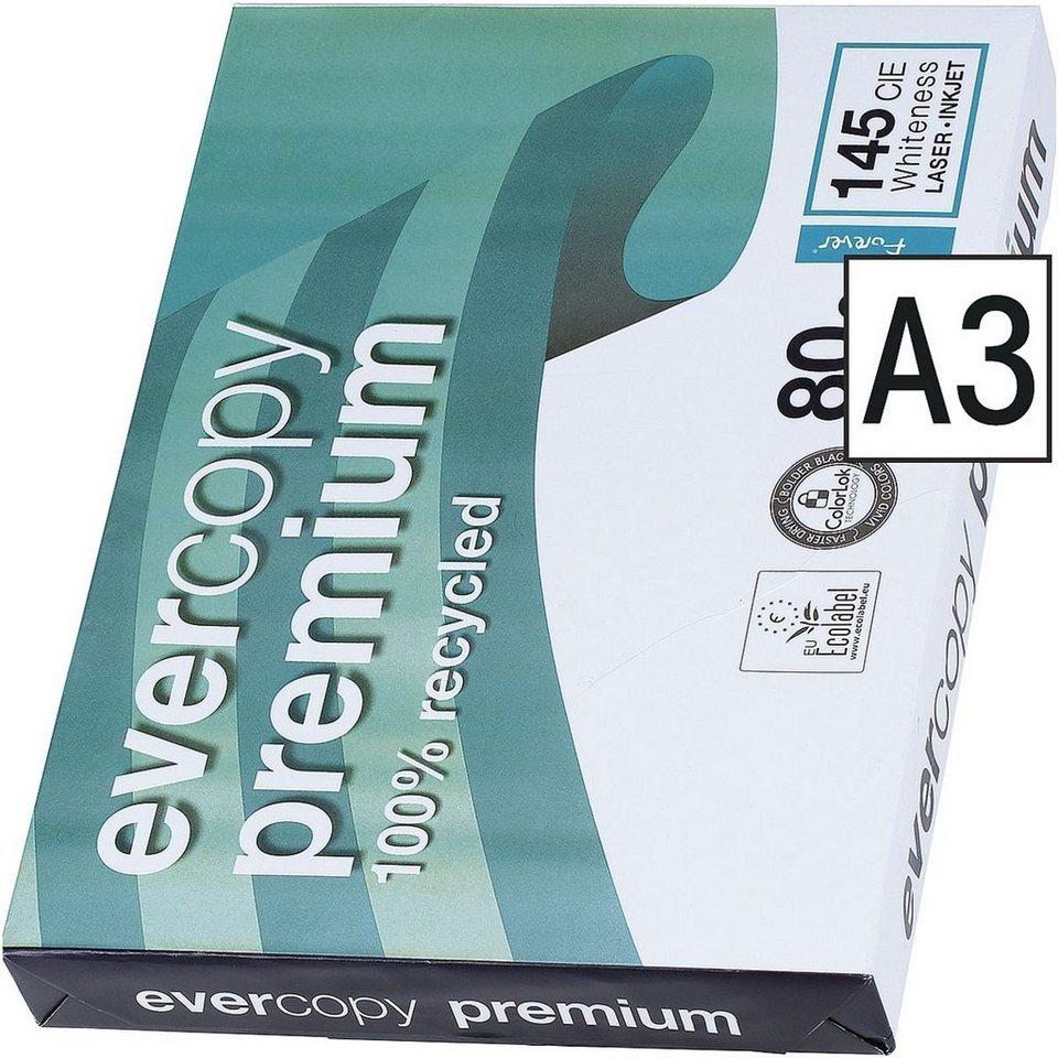 Clairefontaine Recycling Kopierpapier »Everycopy Premium«