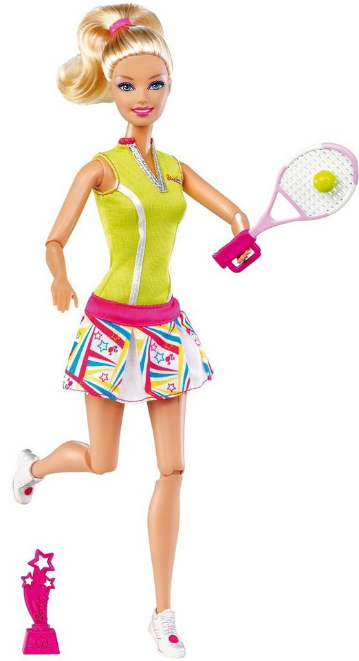 Mattel Barbie Ich wäre gern… Olympia-Star - Tennis
