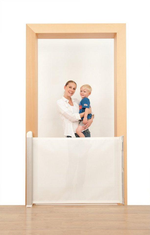 Lascal Tür- und Treppenschutzgitter KiddyGuard avant, weiß in weiß