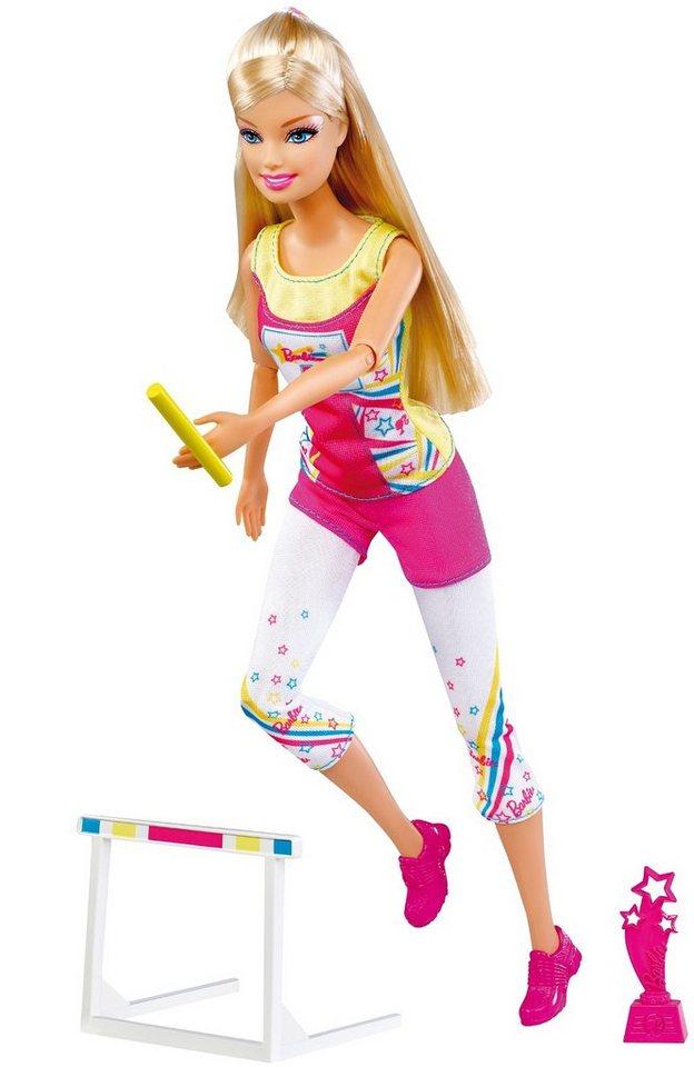 Mattel Barbie Ich wäre gern… Olympia-Star - Leichtathletik