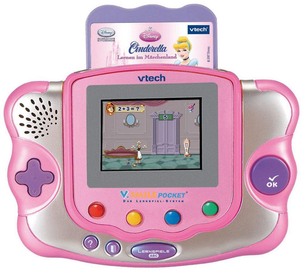 """Vtech V.Smile Pocket Konsole inkl. Lernspiel """"Cinderella"""""""