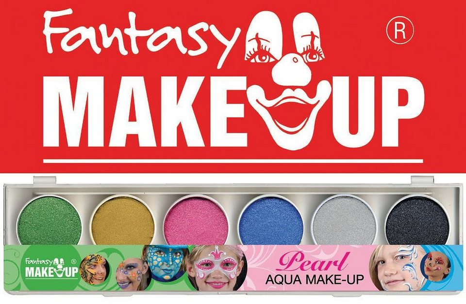 C. KREUL Fantasy Aqua Make Up Set Perlglanz, 8-tlg.