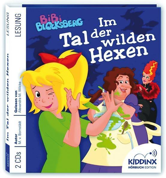 Kiddinx CD Bibi Blocksberg - Hörbuch Im Tal der wilden Hexen