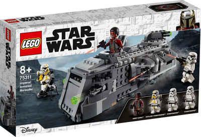LEGO® Konstruktionsspielsteine »Imperialer Marauder (75311), LEGO® Star Wars™ Mandalorian«, (478 St), Made in Europe