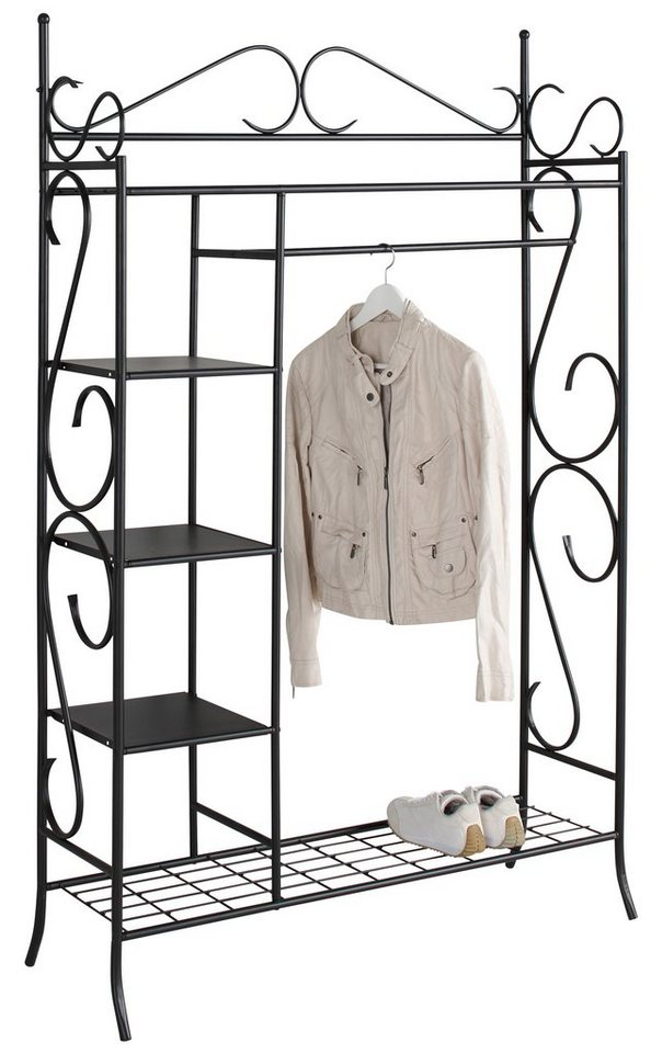 metallgarderobe home affaire online kaufen otto. Black Bedroom Furniture Sets. Home Design Ideas