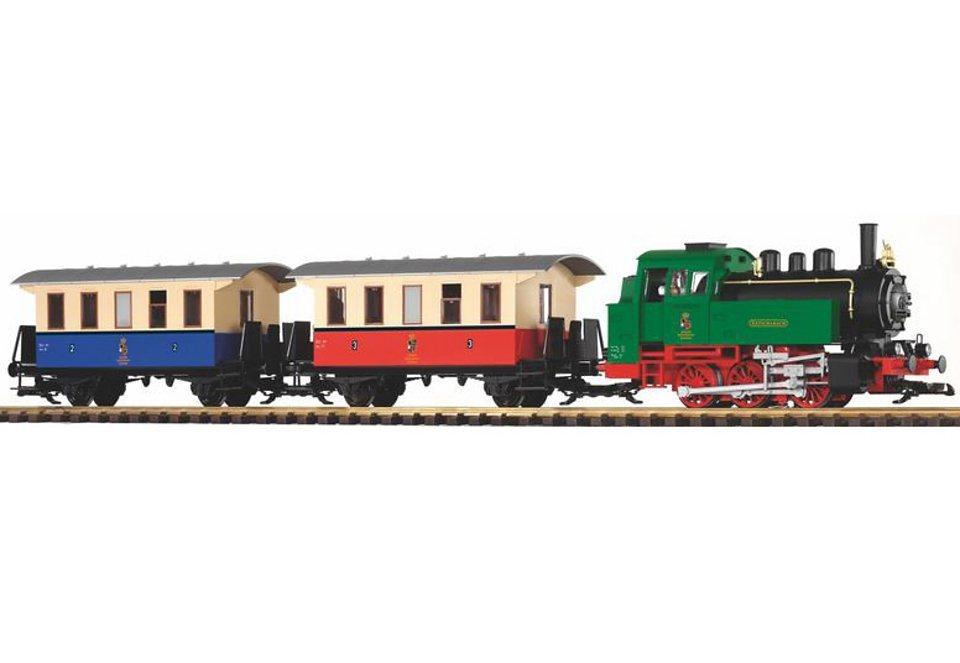 PIKO®, Zug-Set »G Start-Set Personenzug BR 80 + 2 Personenwagen - 37130«, Spur G