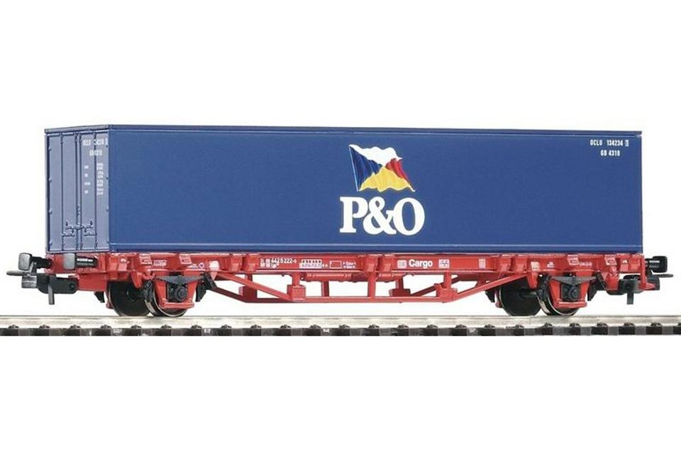 PIKO®, Güterwagen »Containerwagen P & O - 57706«, Spur H0