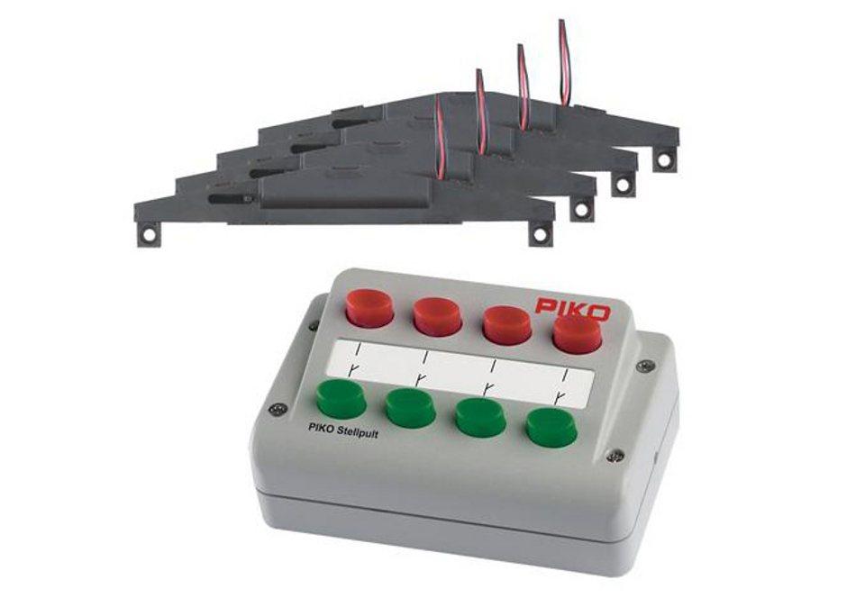 PIKO®, Gleisergänzungs-Set  Weichenantriebs-Set - 55392 , Spur H0 online kaufen
