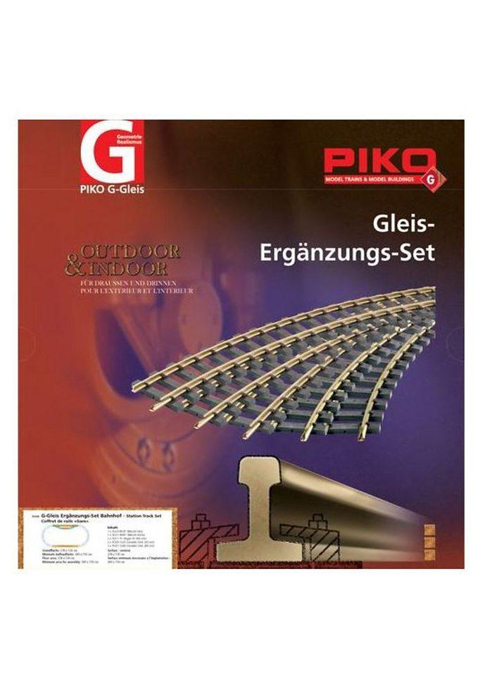 PIKO®, Gleisergänzungs-Set »Bahnhof - 35300«, Spur G