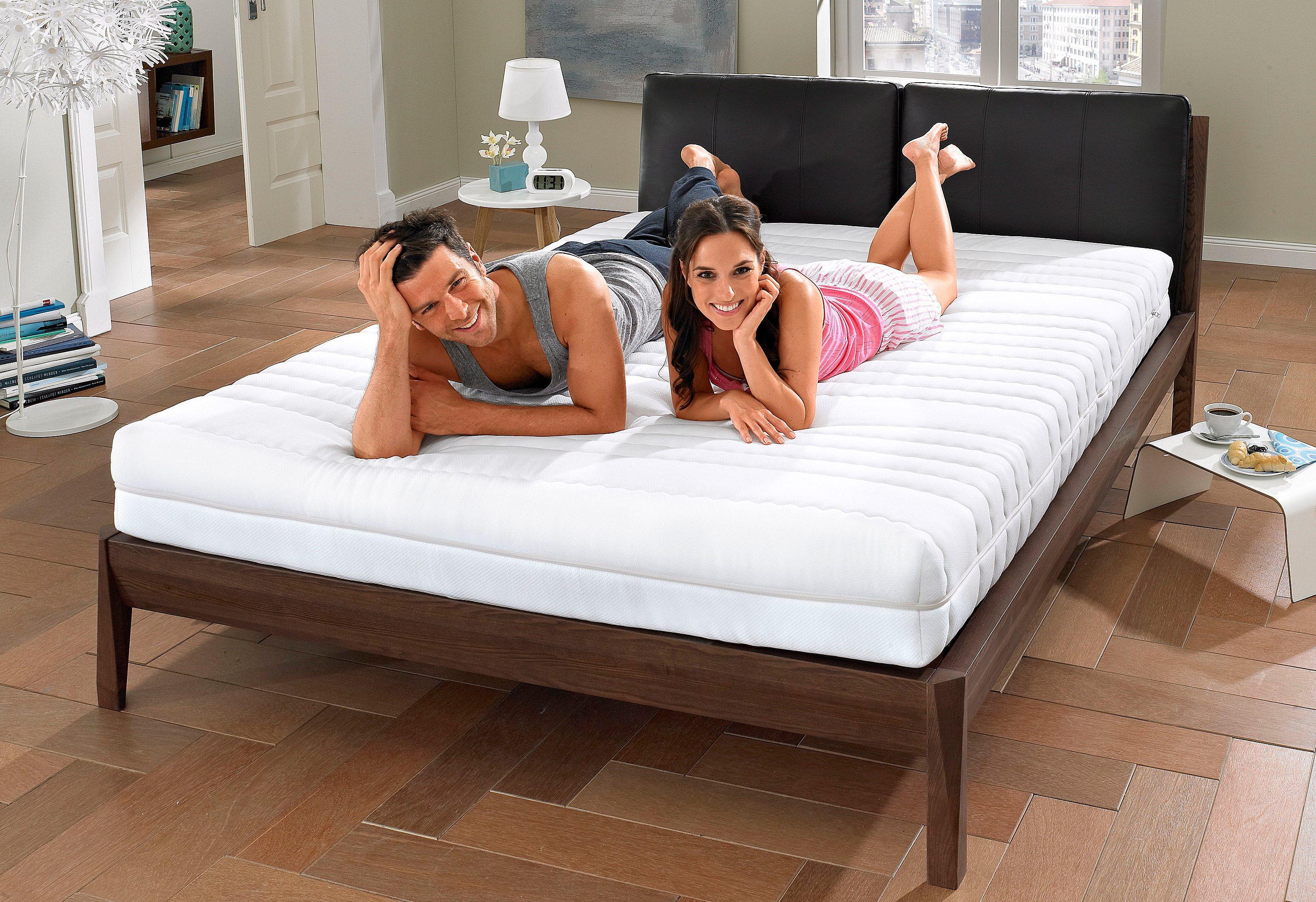 Komfortschaummatratze »7-Zonen-Partnermatratze«, my home, 21 cm hoch, Raumgewicht: 30, (1-tlg), abnehmbarer Bezug | Schlafzimmer > Matratzen > Kaltschaum-matratzen | my home