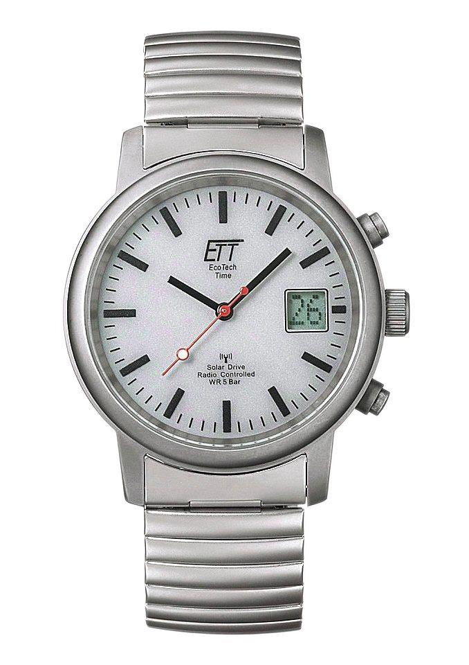ETT Funkuhr »EGS-11187-11M« in silberfarben