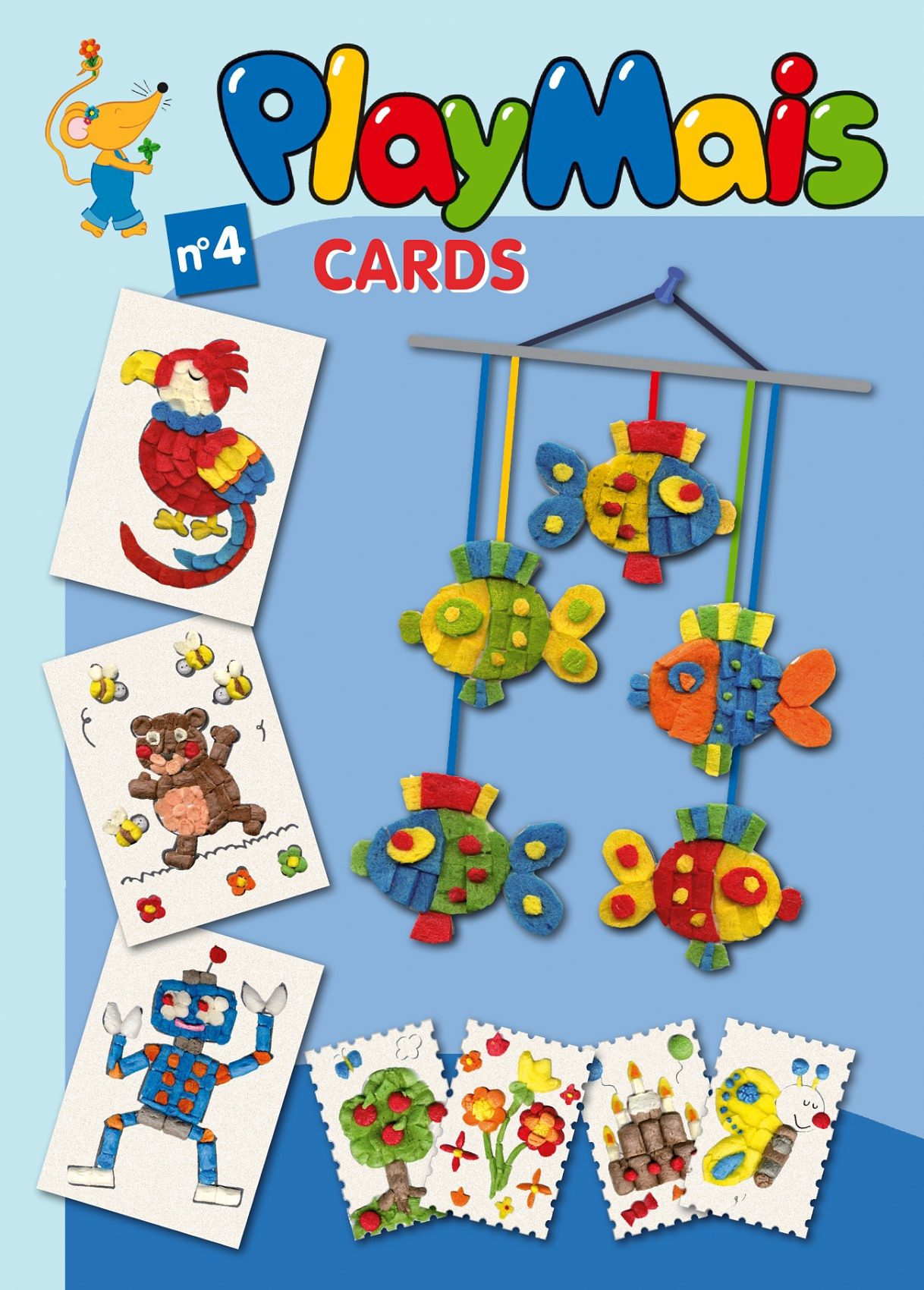 PlayMais -Buch Cards